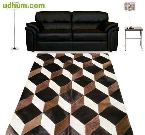 alfombra de cuero alfombra cuero y pelo bolsos