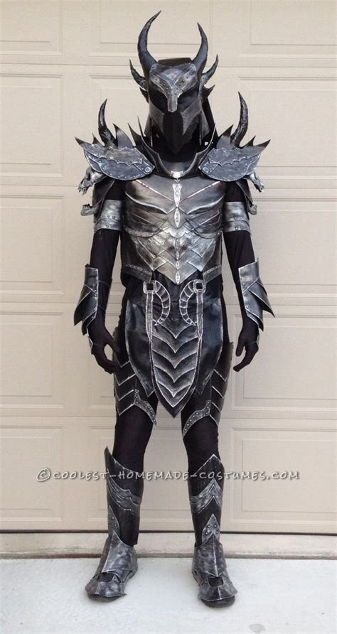the elder scrolls skyrim daedric armor costume