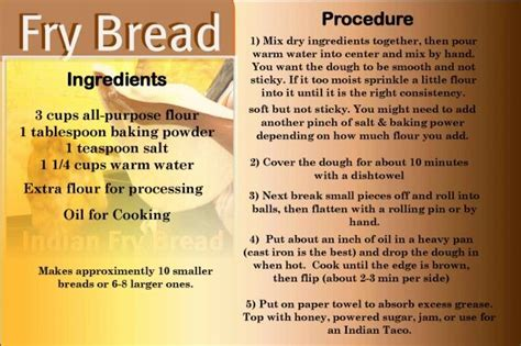 there are several variations to this basic recipe there