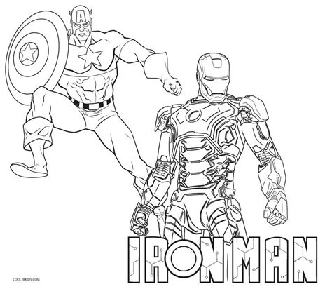 Printable Ironman Coloring Pages Online | free printable iron man coloring pages for kids cool2bkids