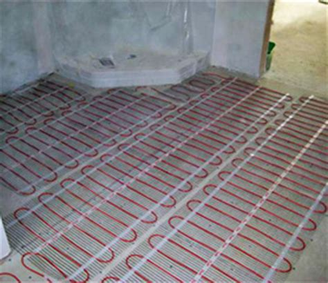 heated bathroom floor mat electric radiant heating systems for interior and exterior applications