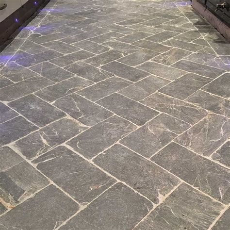 herringbone tile floor slate herringbone grey tiles and flooring