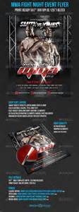 ufc poster template graphicriver mma fight ufc event promo flyer 5443740