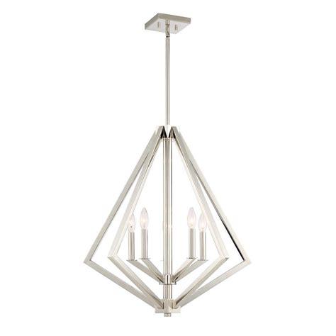 polished nickel chandeliers filament design 5 light polished nickel chandelier cli