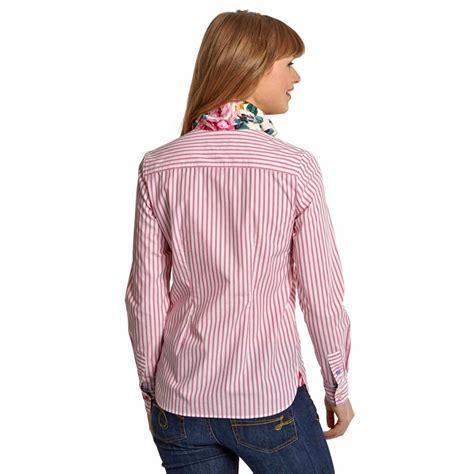 Stripe Blouse joules s kingston striped shirt pink stripe