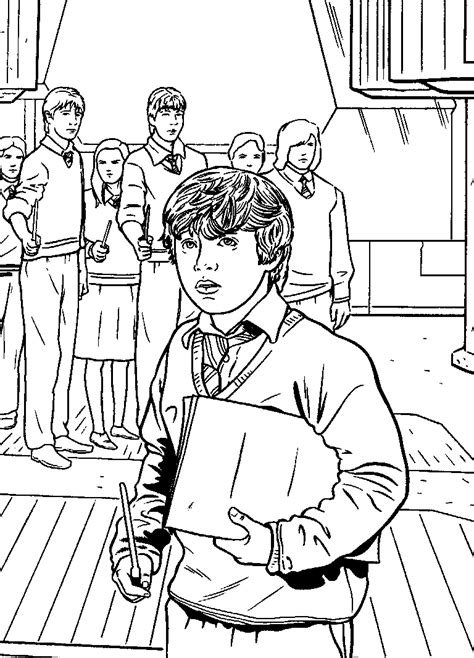 harry potter coloring book buy n 24 coloring pages of harry potter and the