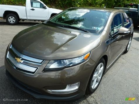 Exterior Paint Colors 2017 Brownstone Metallic 2014 Chevrolet Volt Standard Volt