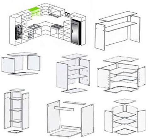 modulos cocina medidas medidas de modulos para muebles de cocina azarak