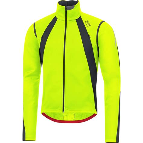 mens fluorescent cycling jacket gore bike wear oxygen gws jacket men s ebay
