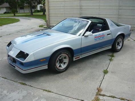 1982 camaro pace car for sale buy used 1982 chevrolet z28 camaro indy 500 pace car 4404