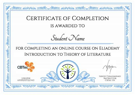 certificate of course completion template best photos of book certificate template summer c