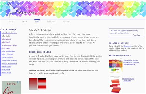 color theory and using text to design web pages 10 best online tutorials on color theory web design