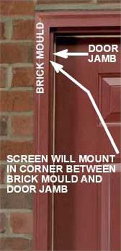 Brick Mold Door by Should Two New Exterior Doors Leak Puddles Into The House