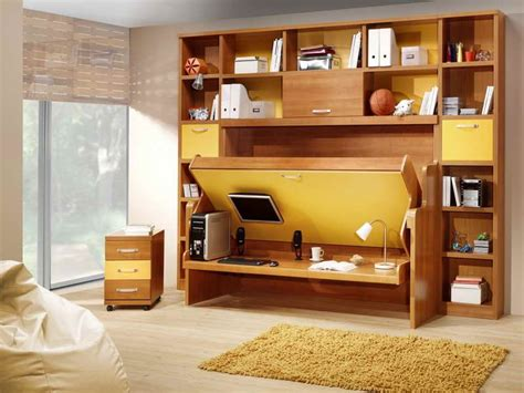Murphy Bed Office Desk 10 Desk Murphy Beds Space Saving Ideas And Designs