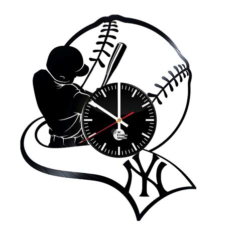 gifts for yankees fans new york yankees handmade vinyl record wall clock fan gift