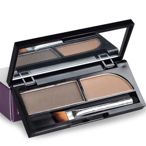 City Color Eyebrow Kit Pensil Alis Powder Brow brand best waterproof 2 colors eyebrow powder eyebrow palette cosmetic makeup kit 4