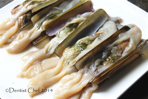 Kerang Bambu recipe stir fried razor clams with oyster sauce resep