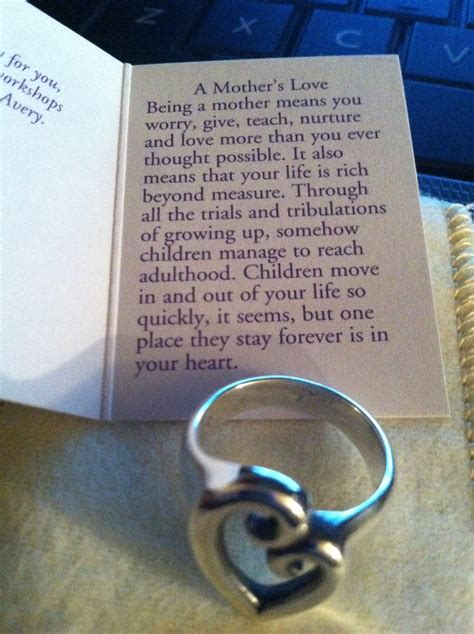 james avery mothers love ring james avery jewelry pinterest mothers    james