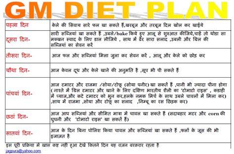 Gm Detox Diet Vegetarian by Bemakibich Gm Diet Plan 2 In