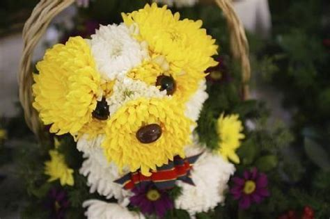 puppy flower flowers flower arrangements made in the shape of dogs times guide to dogs