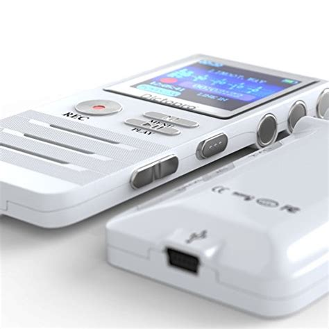 digital with hd recording digital voice activated recorder by dictopro