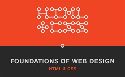 web design html and css foundations of web design html and css basics