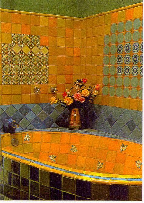 Mexican Bathtub by Mexican Tile Bathroom Hogar Para Vivir