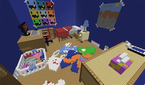 things to put in a minecraft bedroom survival games map giant house maps mapping and modding java edition