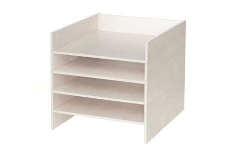 ikea shelf inserts p o box shelf insert for ikea kallax shelf by