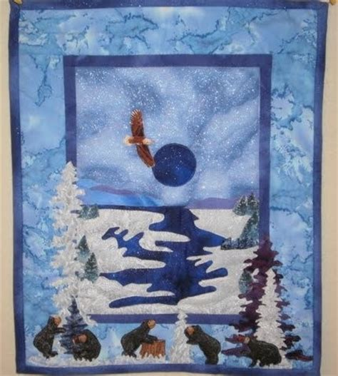 Bearly Quilting by Snowy Friends Quilt Contest Quilting Gallery Quilting