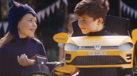 volkswagen golf boy  transformer costume commercial song