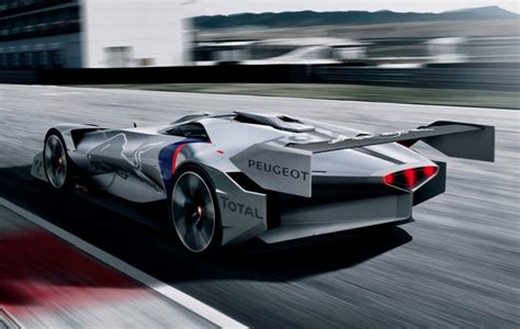 car make peugeot peugeot l750 r hybrid vision gran turismo makes virtual