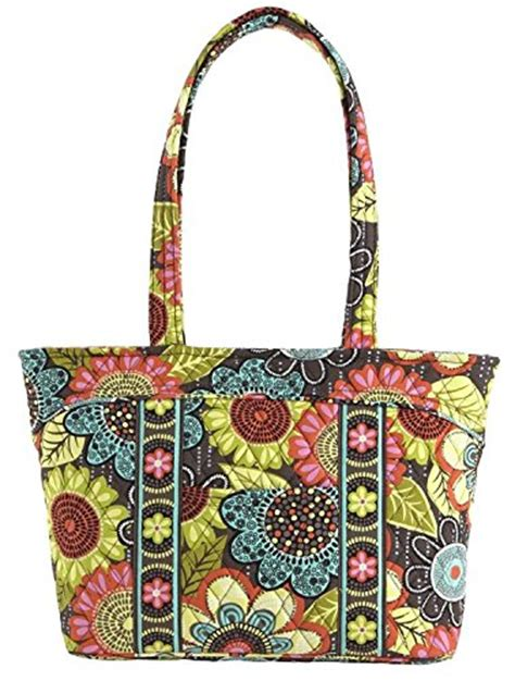 Name Mandy Moores Designer Purse by Vera Bradley Mandy Tote Flower Shower Accessorising