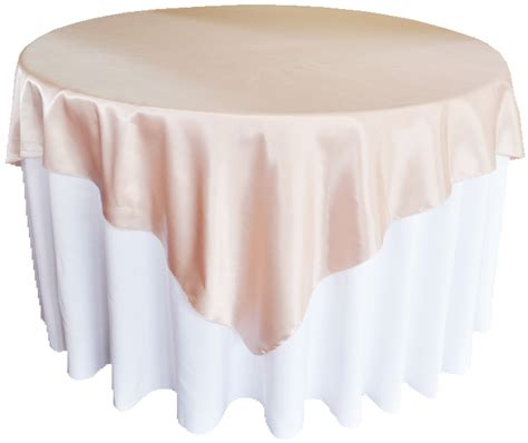 wholesale satin table overlays blush pink
