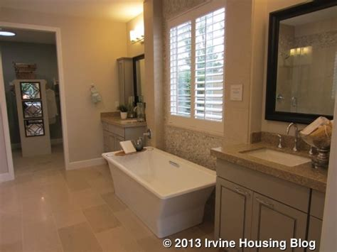 Bathroom Laundry Hers A Review Of The Hawthorn Tract At Pavilion Park Irvine Housing