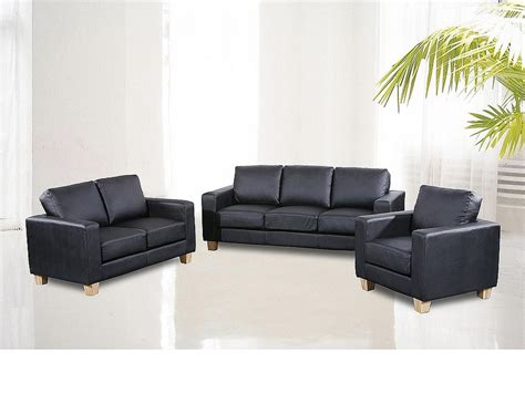 3 2 1 Leather Sofa by Chesterfield 3 2 1 Faux Leather Sofa Suite Available In