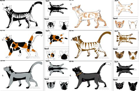 kitten maker design warrior cats cat adoptables free by talitah on deviantart