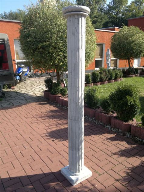 säulen aus gips beton design onlineshop f 195 188 r gartenfiguren