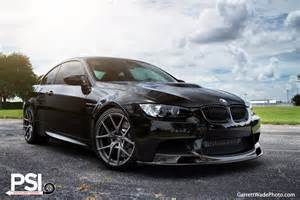 jet black bmw e92 m3 by psi invites us to the side