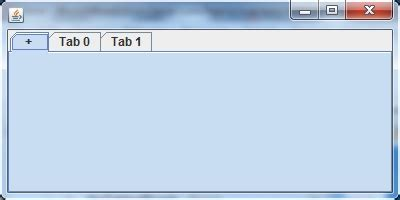 null layout jscrollpane java quot add tab button quot for a jtabbedpane stack overflow
