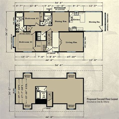 modular home floor plans capes and home on