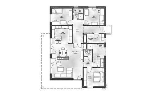 Haus Mit 6 Schlafzimmern by Bungalow 5 Wohnbau Gmbh Co Kg Massivhaus De