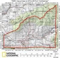 delta county colorado map delta county colorado climbing hiking mountaineering