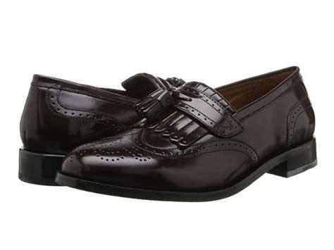 florsheim brinson burgundy s slip on dress shoes