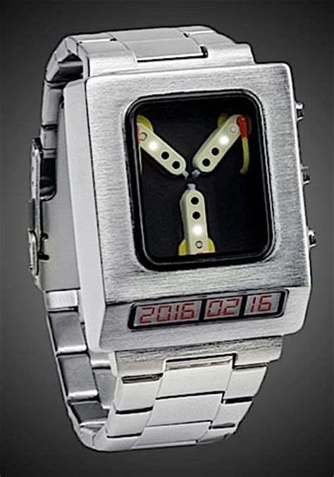 thinkgeek back to the future flux capacitor wristwatch 2015 gift guide for lists paste