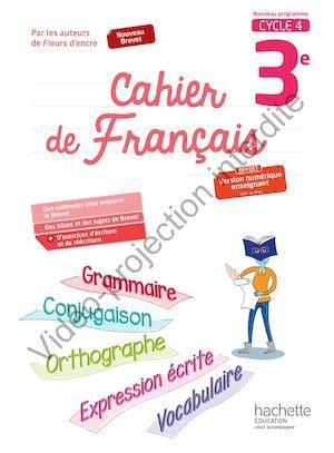 franais 3e cahier 2218989417 calam 233 o cahier de fran 231 ais 3e 2017