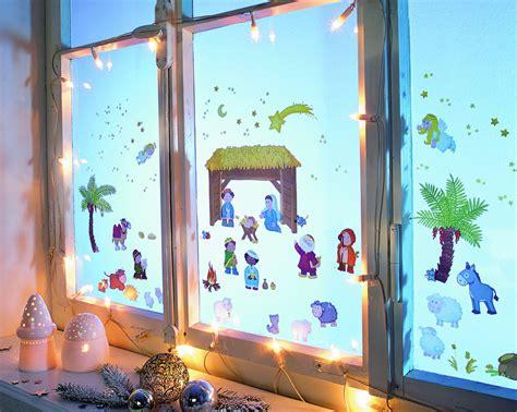 Fensterbilder Weihnachten Vorlagen Krippe by Fensterbild Krippe Geliebtes Net Onlineshop
