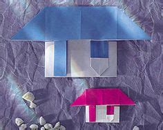 origami haus diy origami paper house tutorial how to fold houses diy