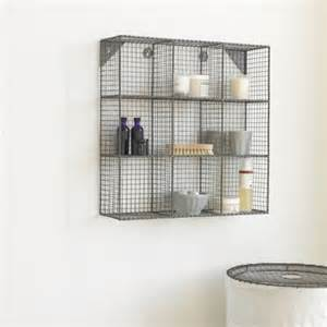 bathroom wall mounted storage waffle wall mount mesh and changing tables