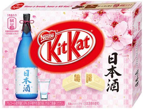 Kitkat Sake get chocolate wasted with new sake flavored kit kats nerdist
